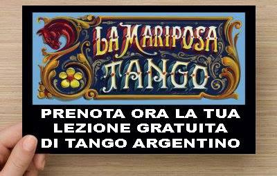 Prenota un corso di tango argentino alla Mariposa