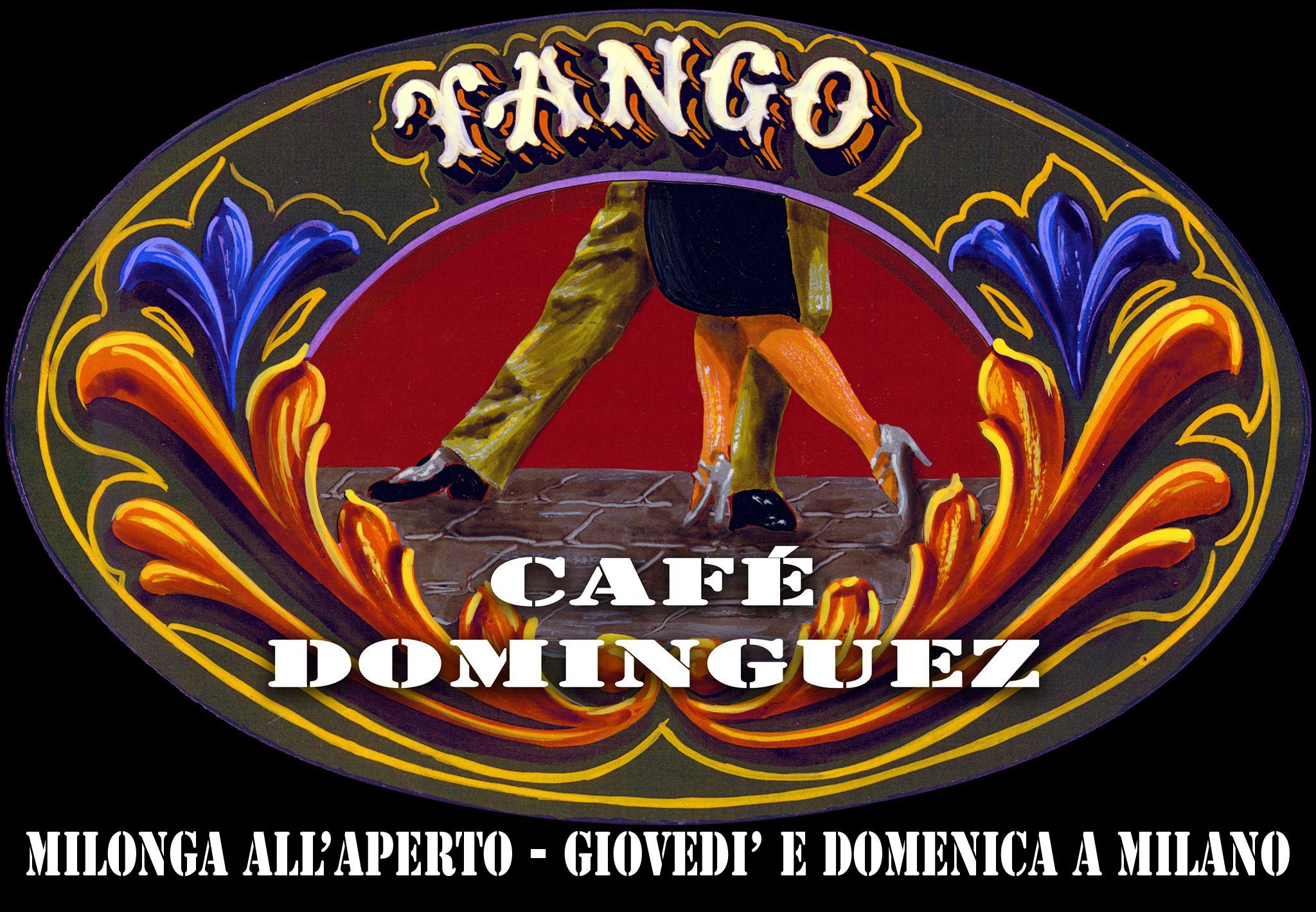 Café Dominguez, la milonga milanese all'aperto